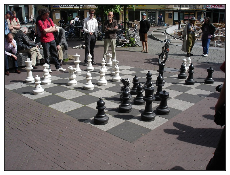 Chess in Amsterdam